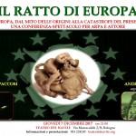 IL RATTO DI EUROPA, conferenza spettacolo sull'Europa a Bologna e Viterbo